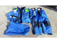 Sea fishing flotation suit