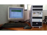 MEDION TOWER COMPUTER MODEL PC MT6 LINUX MINT 15 OPERATING SYSTEM. LIBRE OFFICE INSTALLED