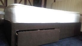 Not free but name your price double divan, headboard and mattress