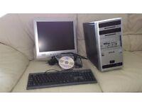 DESK TOP WINDOWS XP COMPUTER FOR SALE