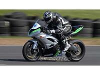 2009-2016 zx6 zx6rr Kawasaki race bike for breaking