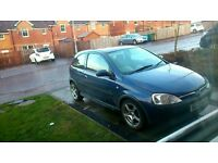 corsa sxi for sale mot to late september needs two droplinks and inside drivers door handle