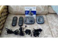 BT Freelance XD8500 twin cordless phone with answering machine