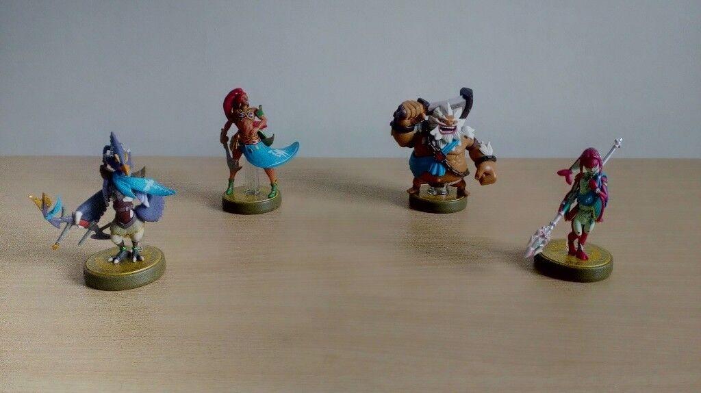 Zelda BOTW Champions Amiibos | in Dundee | Gumtree