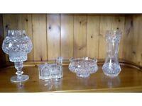 Various Crystal Items