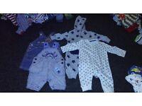 Boys clothes bundle 0-3 months - Disney etc