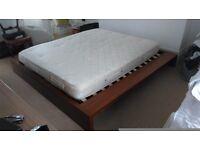 Bo Concept king size bed frame (no mattress)