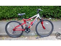 Apollo fully suspended mountain bike