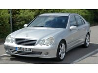 2005 MERCEDES-BENZ C CLASS C220 CDI AUTOMATIC DIESEL EXECUTIVE, 1 PREVIOUS OWNER-FUL SERVICE HISTORY