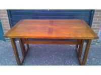 Dinning/console/sideboard table for Sale - Mahogany, ideal for small spaces