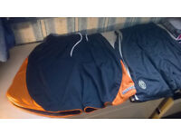 2 Football shorts size M (Juventus and Pro star shorts) (NEW)