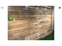 Wood Wall Cladding - Pallet Wood Cladding - per sq. m - Dry - Denailed