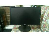 "LG 24""LED monitor with HD"
