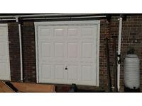 Garador electric up and over garage door.