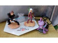 Disney Infinity with figures