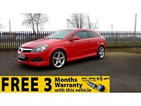 Vauxhall Astra SRI Xp + 1 Year MOT, Warranty,Finance available, reliable and comfortable vehicle.
