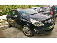 Vauxhall Corsa Excite Black ac 2011-year low mileage for SALE