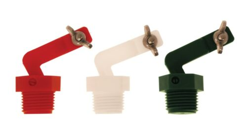 """RITCHIE 12575  1/2"""" VALVES for Larger Ritchie Waterer Red Med Pressure"""
