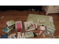 Baby & Mum Bundle (Bouncer, Sling, Clothes, Changing mat, Pampering, etc)