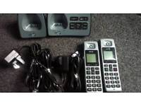 Cordless digital home phone with answering machine