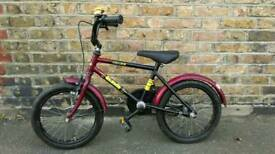 16 inch child's bike/bicycle, £15