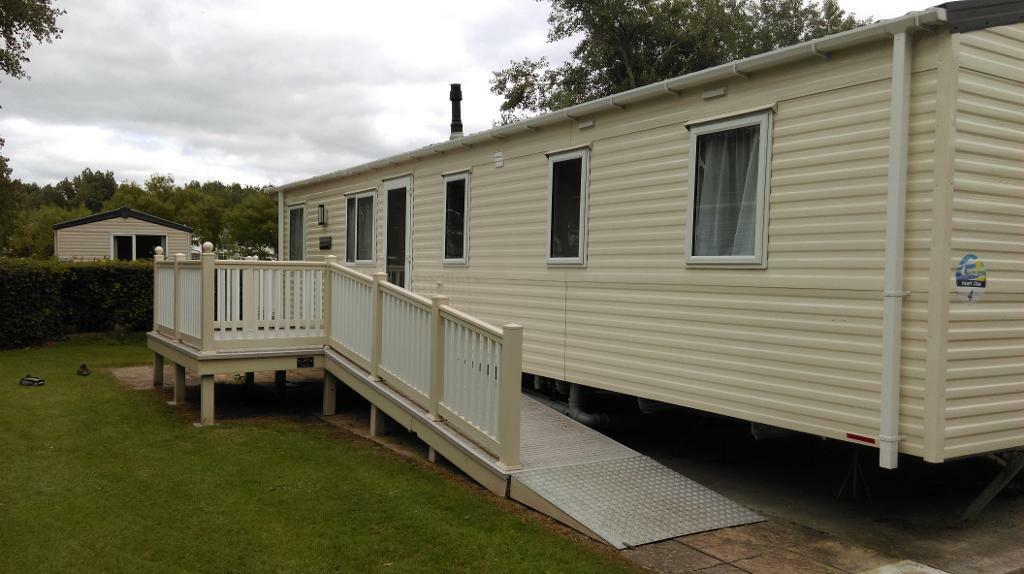2015 static caravan for sale with ramp on burnham on sea - Holiday homes in somerset with swimming pool ...