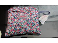 Cath Kidston foldaway backpack new with tags