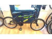 """Black eagle bmx 20"""" wheels suit age 9 yrs, very good condition working order bike"""