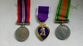 War medals WW2