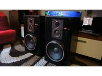 High end Sony ss-g5 speakers, alnico