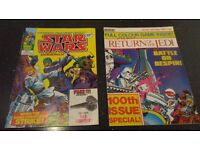 Star Wars Weekly 1970's comic issue number 2 + 1980's 100th Edition