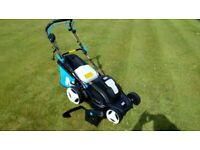 MAC ALLISTER MLM1800MD CORDED ROTARY ELECTRIC LAWNMOWER SELF PROPELLED