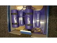 Window wizard magnetic window cleaner (Purple) (new/in box)