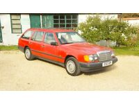 TOTALLY ORIGINAL CLASSIC CAR MERC ESTATE 7 SEATER + LAST LADY OWNER 20 YEARS + HUGE HISTORY FILE +