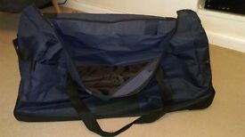 very large wheeled holdall - only used a couple of times - £28 new