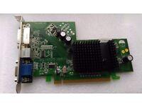 Graphic Card for Desktop ATI Radeon X300 PCI-e