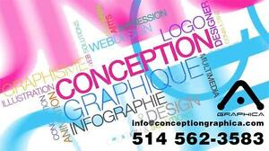 Carte d'affaires, Logo, dépliants, Affiche, menu, facture, accroche porte, publicité, Graphiste, Infographie