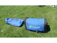 Outwell nebraska 8 man tent.