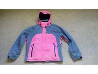 Ladies ski jacket, size medium