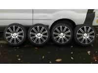 "4 x Enzo Dezent 16"" Shift Alloy Wheels - Multifit 4x100 / 4x108"