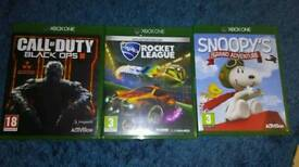 3 Xbox one games