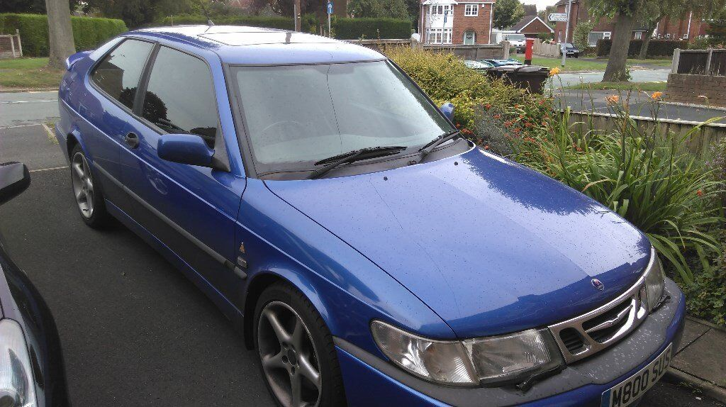 1999 saab 9 3 viggen 2 3 turbo for sale in stafford. Black Bedroom Furniture Sets. Home Design Ideas