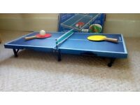 """""""Table-top"""" table tennis for sale £10"""