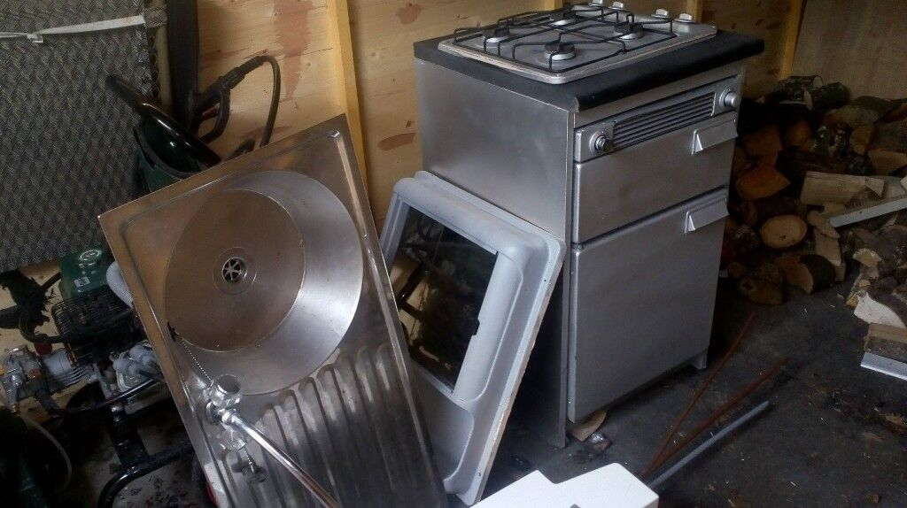 Campervan , Motorhome Conversion parts, Sink Unit, Cooker, Vanity Unit , £60, Please see below!