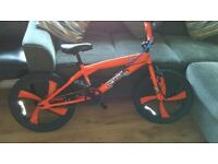 "Boys BMX bike. 18"" wheels"