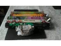 Incense holder and sticks