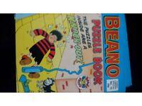 Paper back Beano and dandy comics