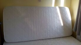 Mattress for single bed.