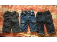 Baby trousers 9-12 mths