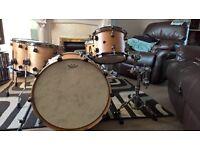 cherry drum kit